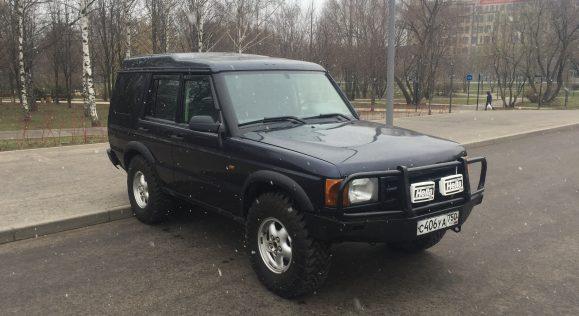 Продажа Land Rover Discovery II, 1999 год выпуска, 413000 км. пробег