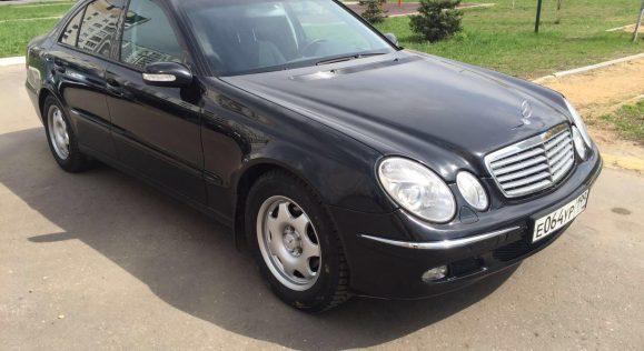 Продажа Mercedes-Benz E320, 2004 год выпуска, 200000 км. пробег